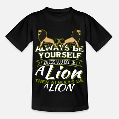 Courage lion - Kids' T-Shirt