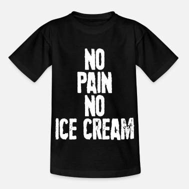 Icecream Ice Cream Ice Cream Ice Cream Sweet Ice Cream Summer Sun. - Kids' T-Shirt