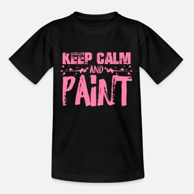 Paint Painter Painting Team Painter Painter - Kids' T-Shirt