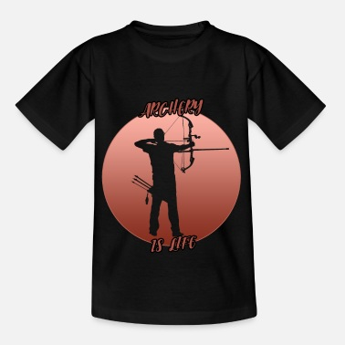Training Archery - is the best - Kids' T-Shirt