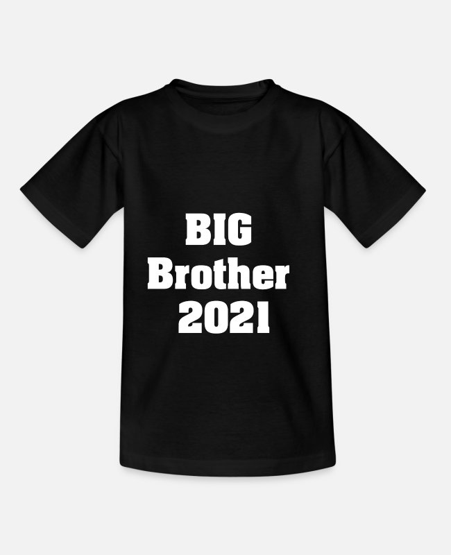 Big T-shirts - BIG Brother 2021 - T-shirt til børn sort
