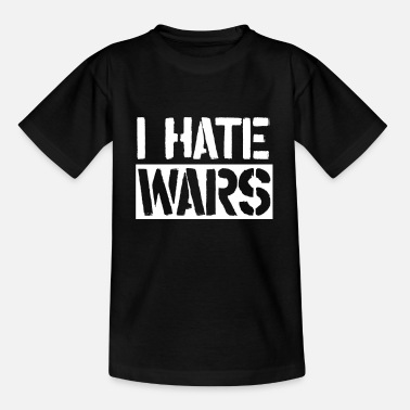 To Hate Demo Anti War Wars Stop Peace Pro Peace - Kids' T-Shirt
