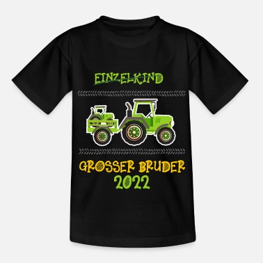 Big Brother Announcement Big Brother Shirt Tractor 2022 - Kids' T-Shirt