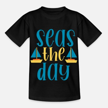 Sailing Sail Boat Water sports crew cruise - Kids' T-Shirt