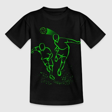 Football Neon Footballer Shirt - Kids' T-Shirt