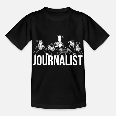 Journalist Artistic Journalist Graphic Design Journalism Came - Kids' T-Shirt