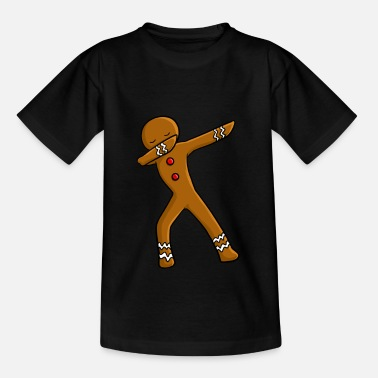 Cookie Christmas Dab Tee Shirt Gift - Kids' T-Shirt