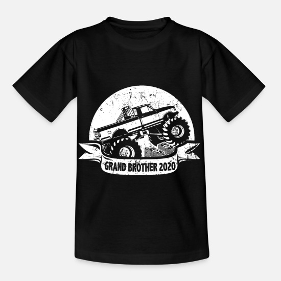 Big Brother Magliette - Monster Truck Monster di Big Brother 2020 - Maglietta per bambini nero