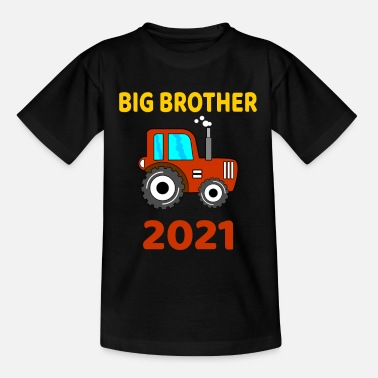 Big Big Brother Tractor Big Brother 2021 tractor - Kids' T-Shirt