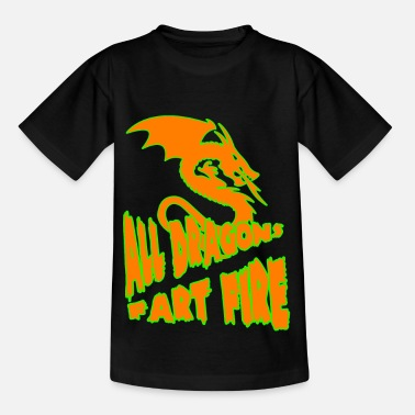 pet de dragon - T-shirt Enfant