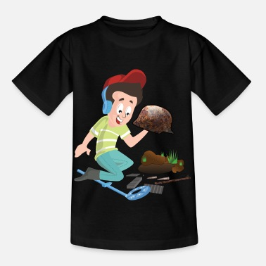 Militaria Militaria Sondler Treasure hunt for WW2 relics - Kids' T-Shirt