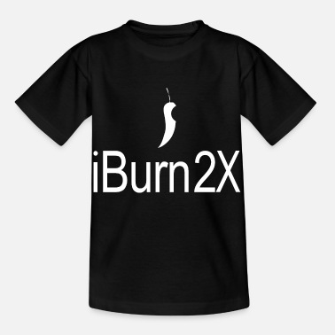 Piss Wc Chilli-iBurn2X-in white, foodcontest - Kids' T-Shirt