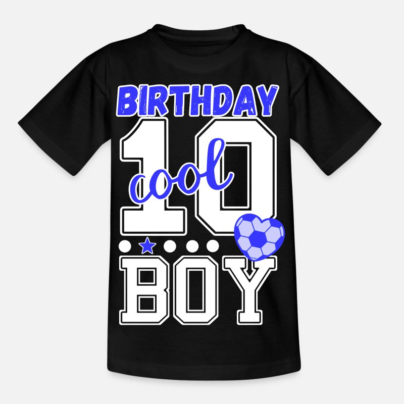 Birthday Boy Fussball T Shirts