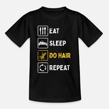Cut Barber profession - Kids' T-Shirt