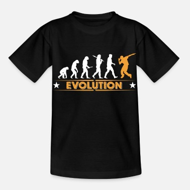 Hiphop Hip hop break dance evolution - orange/blanc - T-shirt Enfant