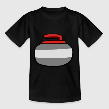 Curlingstein - Kinder T-Shirt