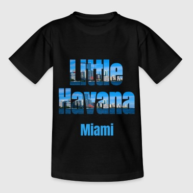 Dominos Little Havana Miami, United States of America, City Neighborhood Gifts - Kids' T-Shirt
