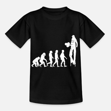 Evolution Evolution of Stilts Artist Evolution - Kids' T-Shirt