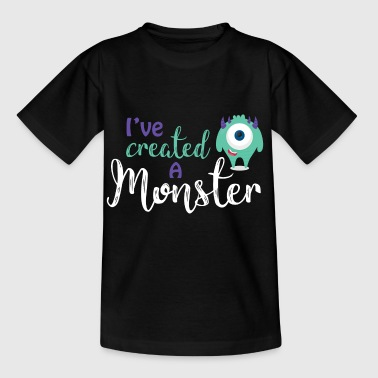 Ouders - kind - Partnerlook - Monster ouders - Kinderen T-shirt
