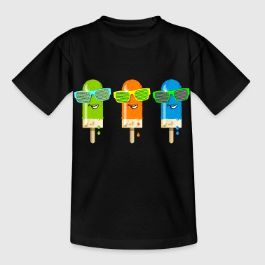 Eis am Stiel ice lolly ice cream Sommer Gelato süß - Kids' T-Shirt
