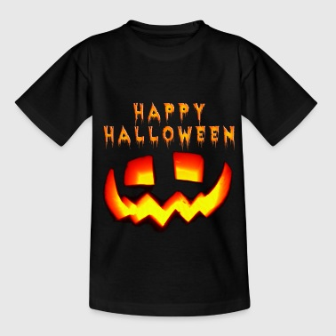 happy_halloween_m - T-shirt Enfant