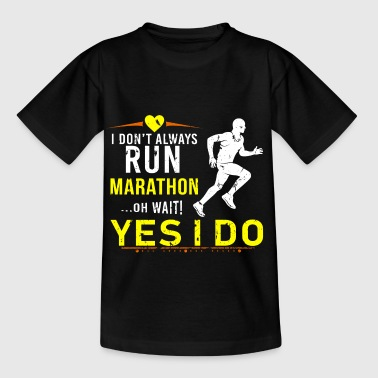 Gift Marathon Sprint Motivation Run Stamina - Kids' T-Shirt