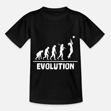 Comics Evolution volleyball, sport, gift idea - Kids' T-Shirt