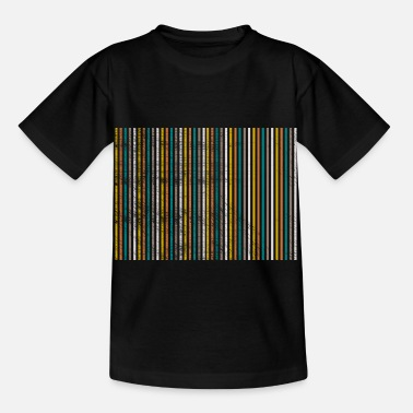 Strip strip - Kinderen T-shirt