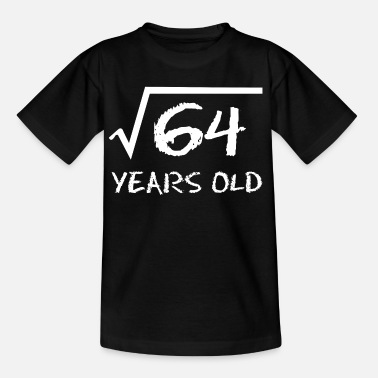 Birthday 8th birthday root math - Kids' T-Shirt