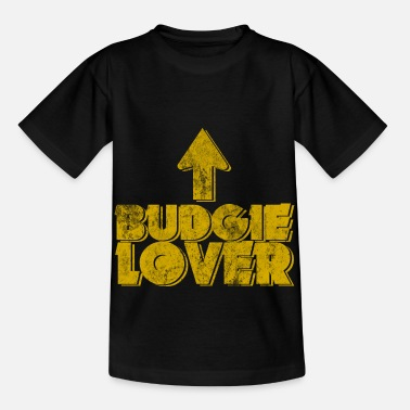 Stomme Budgie Lover gift idea - Kids' T-Shirt