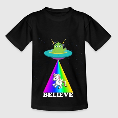 Alien Unicorn Unicorn - Kids' T-Shirt