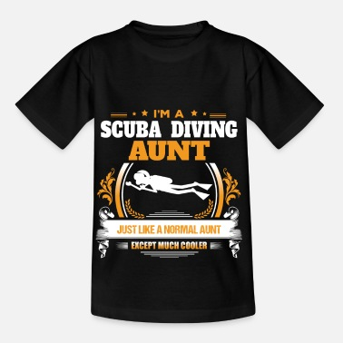 Scuba Diving Scuba Diving Aunt Shirt Gift Idea - Kids' T-Shirt