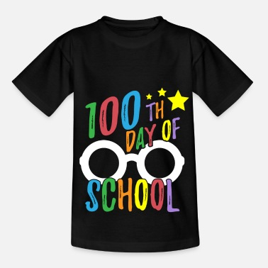 School 100th Day of School Tee for Teachers and Student - Kids' T-Shirt