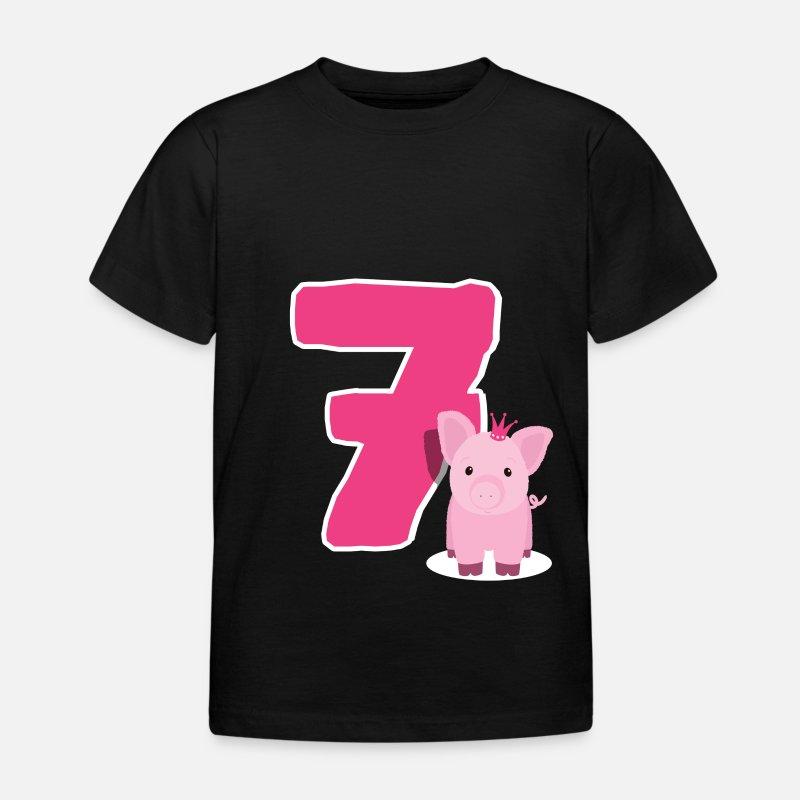 Age 7 Girls T Shirts
