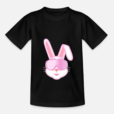 After Ski Ski hare, after ski, winter vacation, skiing - Kids' T-Shirt