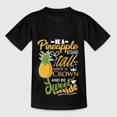 Funny pineapple - Kids' T-Shirt