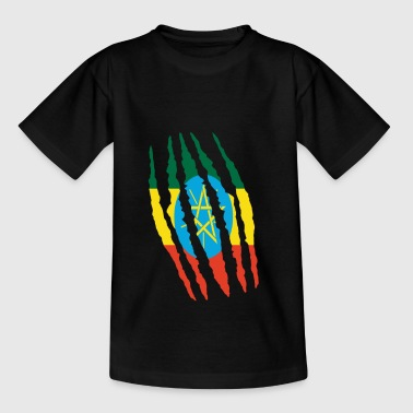 Claw claw tears origin Ethiopia png - Kids' T-Shirt