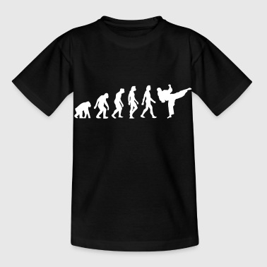 The Evolution Of Taekwondo - Kids' T-Shirt