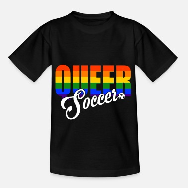 Coming Out LGBT Soccer Gay Pride CSD Soccer Sport Queer - Kids' T-Shirt