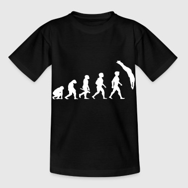 Evolution Tauchen Taucher Wassersport - Kinder T-Shirt