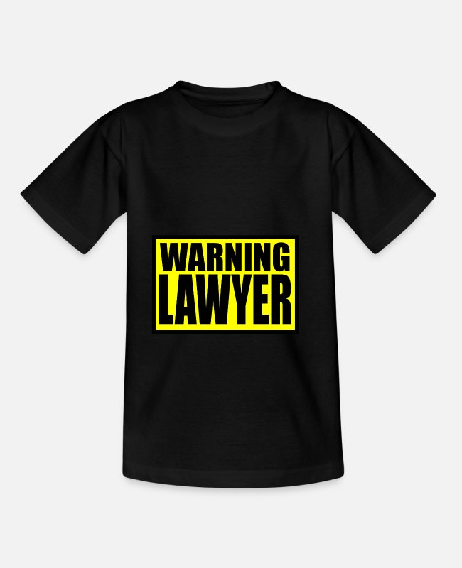 G8 T-Shirts - lawyer - Kids' T-Shirt black