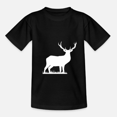 Deer silhouette - Kids' T-Shirt