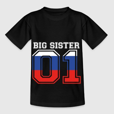 Big Sister grosse Schwester 01 Russland - Kinder T-Shirt