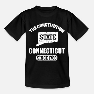 Constitution Connecticut The Constitution State Since 1788 - Kids' T-Shirt