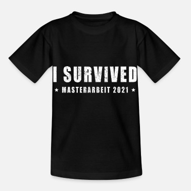 Final Thesis Degree ends in 2021 Master's thesis - Kids' T-Shirt
