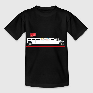 Stretch Limousine Hummer - Kinderen T-shirt