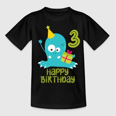 3rd birthday, 3rd birthday - Kids' T-Shirt