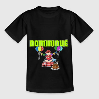 Dominique Fire Department Dominique Gift - Kids' T-Shirt