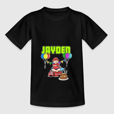 Fire Department Jayden Gift - Kids' T-Shirt