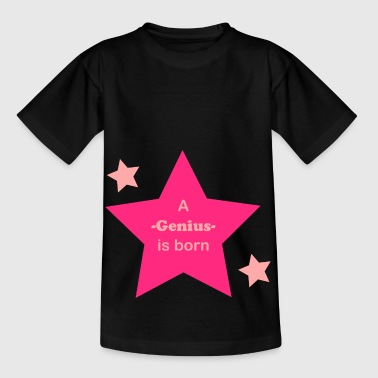 A genius is born - Kinderen T-shirt